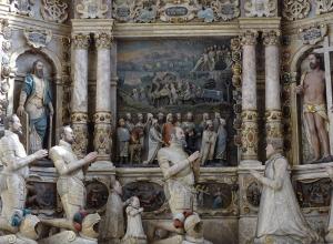 Epitaph in der Moritzkirche mit Darstellung der Herzoglichen Familie