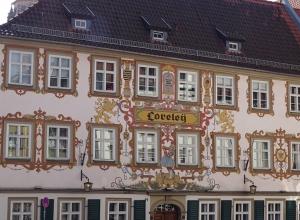 Berühmte Gaststätte Loreley